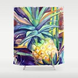Kauai Pineapple 4 Shower Curtain