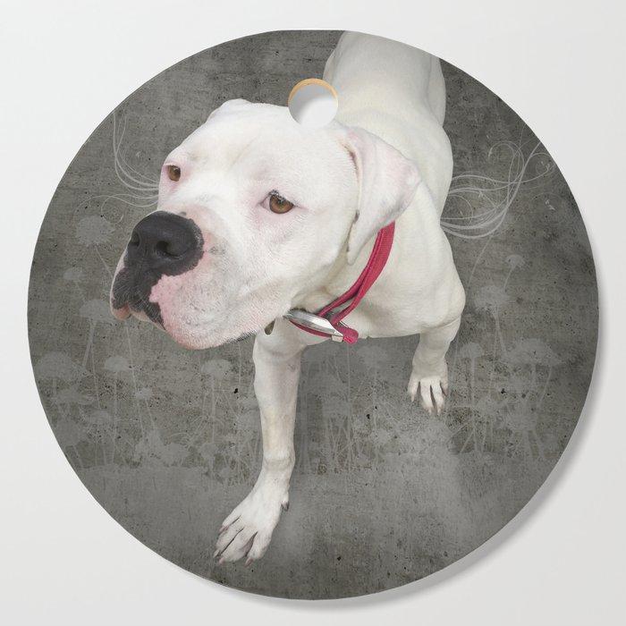 TSUKi (shelter pup) Cutting Board