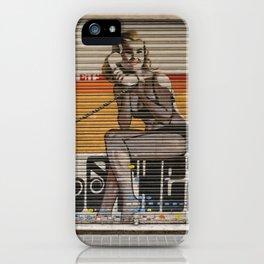 Artful Barcelona Roll-up Door iPhone Case