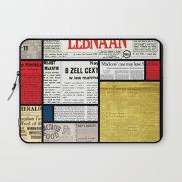 Mondrian's News Laptop Sleeve