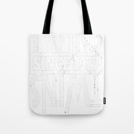 Twins-Since-1977---40th-Birthday-Gifts Tote Bag