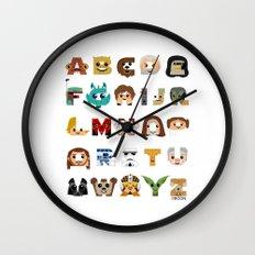 ABC3PO Wall Clock