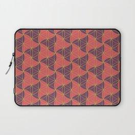 Trinity Pattern Pink Purple Laptop Sleeve