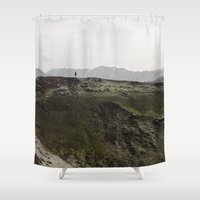 iceland Shower Curtains featuring ICELAND VII by Gerard Puigmal