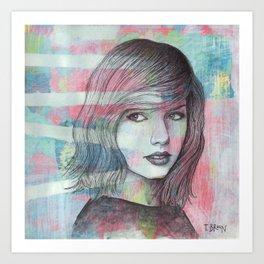 Taylor - Wildest Dreams Art Print