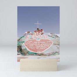Salvation Mountain 1 Mini Art Print