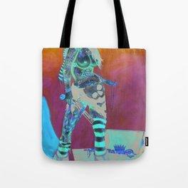 Merciless Tattooed Pirate queen  Tote Bag