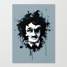 Edgar Allan Crow Canvas Print