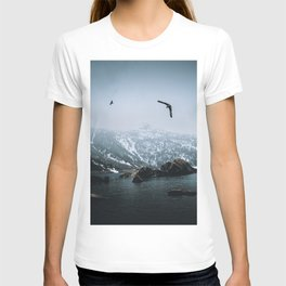 Seagulls at an Alpine Lake? T-shirt