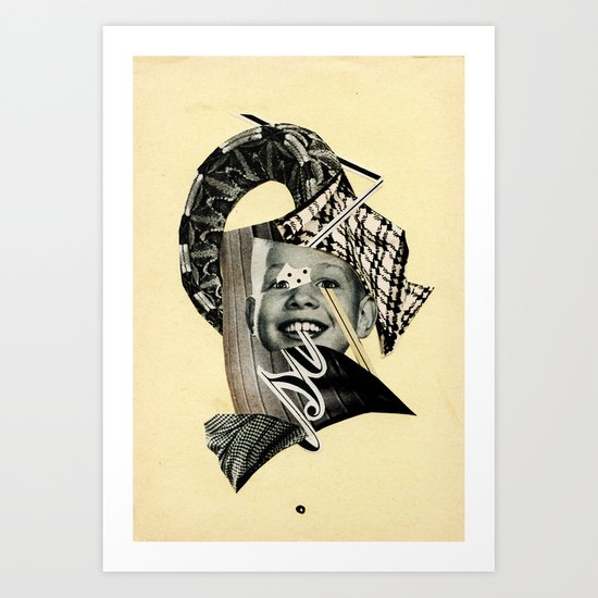 ...si. Art Print