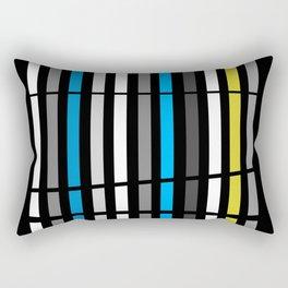 Bamboo Print Rectangular Pillow