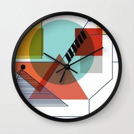 Bauhaus Kandinsky Modern Art Wall Clock