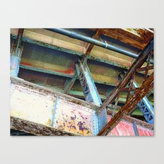 Beams and Girders - Charles River Overpass Canvas Print