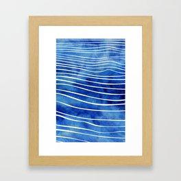Tide XI Framed Art Print