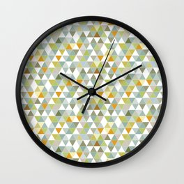 Lime Greens Wall Clock