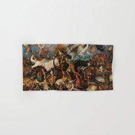 Pieter Bruegel the Elder The Fall of the Rebel Angels Hand & Bath Towel