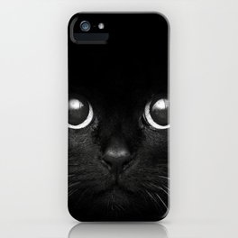 Black Cats are Good Luck iPhone Case