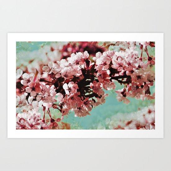 Springblossom - photography Art Print