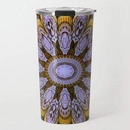 Candys Mandala Art Travel Mug