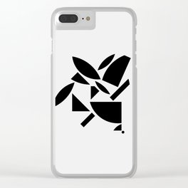 Where does a thought go when it's forgotten? 4-6 Clear iPhone Case