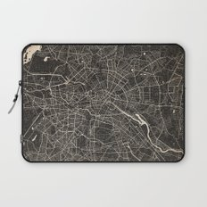 berlin map ink lines Laptop Sleeve