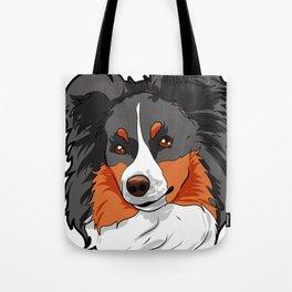 Shetland Sheepdog Dog Doggie Puppy Present Gift Tote Bag