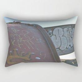 Graffiti Rectangular Pillow
