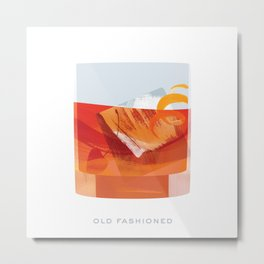 Cocktail Hour: Old Fashioned Metal Print