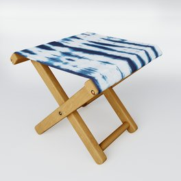 Linen Shibori Shirting Folding Stool