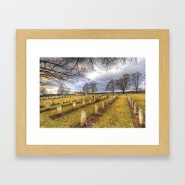 World War 2 War Graves Budapest Framed Art Print