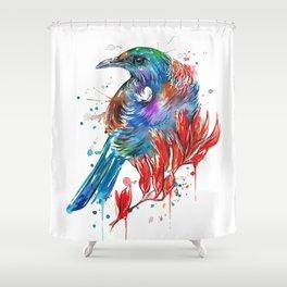 Flax Tui Shower Curtain