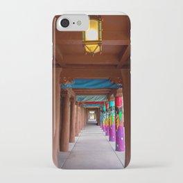 IAIA Museum Porch Santa Fe NM iPhone Case