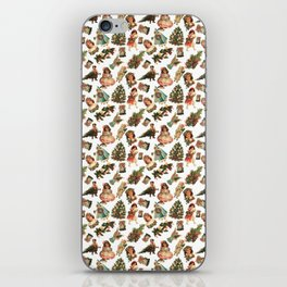 Victorian Christmas iPhone Skin