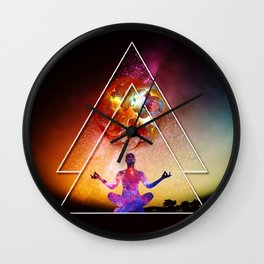 Yoga Energy by GEN Z Wall Clock