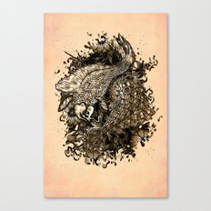 GOLDEN PISCES Canvas Print