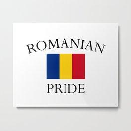romanian pride Metal Print