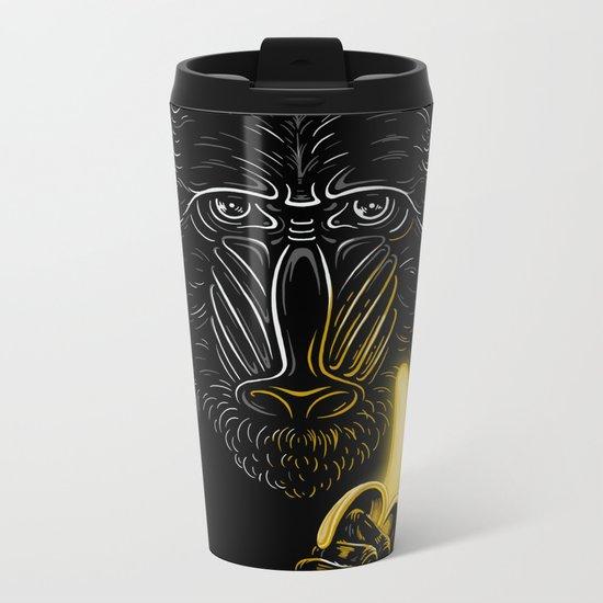 Darth Mandrill Metal Travel Mug