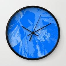 Intimate blue Wall Clock