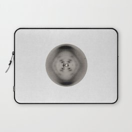 X-ray diffraction image of DNA Laptop Sleeve