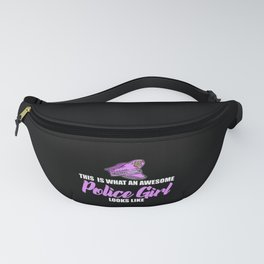 awesome police girl Fanny Pack