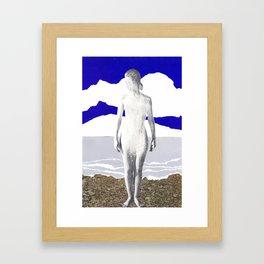 near brighton pier Framed Art Print