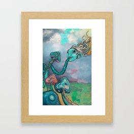 música comestible Framed Art Print
