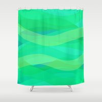 discount Shower Curtains featuring Subtly dancing with the wind by R Jordan