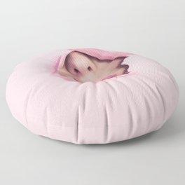 Mouth kiss Floor Pillow