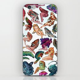 Reverse Mermaids iPhone Skin