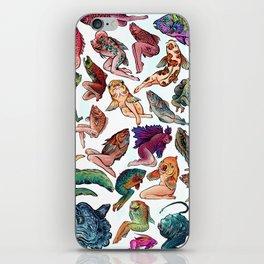 Reverse Mermaids iPhone Skin
