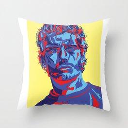 Henry Cavill Portrait Throw Pillow