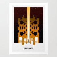 Supreme Being 2 Art Print