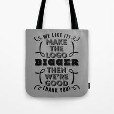 Minor Comment Tote Bag