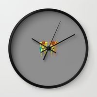 metroid Wall Clocks featuring Metroid by Archymedius